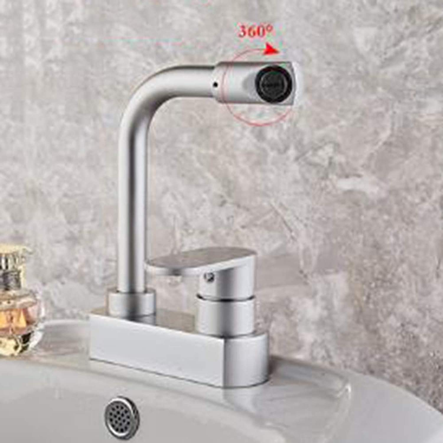 Kitchen Sink Faucet Basin Faucet, Bathroom Faucet Stainless Steel tap Modern Commercial Single Hand Down Kitchen Bathroom Bathroom -A