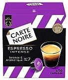 Carte Noire Café Espresso Intense - 96 capsules (6 packs de 16) compatibles Dolce Gusto