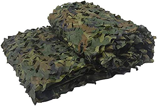 Filet d'ombrage ZXMEI Filet De Camouflage boisland, Utilisé for Le Camouflage De Camping dans L'armée, Tente Extérieure D'Oxford for Empêcher La Photographie Aérienne (Taille   4x4m)