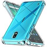 Ferilinso Funda para Nokia 1.3 [Transparente TPU Silicona Carcasa] [10X Anti-Amarilleo] [Compatible con la Cristal Templado Protector de Pantalla][Anti-arañazos] [Fácil instalación]