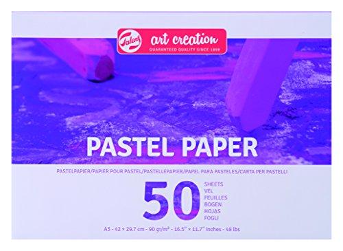 Talens Art Creation Pastellpapier DIN A3, 90g/m², 50 Blätter