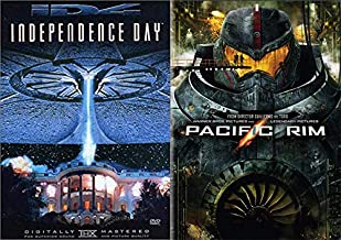 Mysterious Aliens & Robots? Heck Yea! Double Feature - Independence Day and Pacific Rim ( DVD 2 Pack)