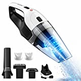 Handheld Cordless Vacuum Cleaner, HoLife Rechargeable Hand Held Car Vac Cordless, Wet Dry