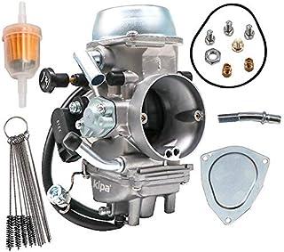 KIPA Carburetor For Yamaha YFZ450 YFZ 450 ATV 2012-2013 OE # 1PD-13597-00-00 With Fuel Filter & Carbon Dirt Jet Cleaner Tool Kit