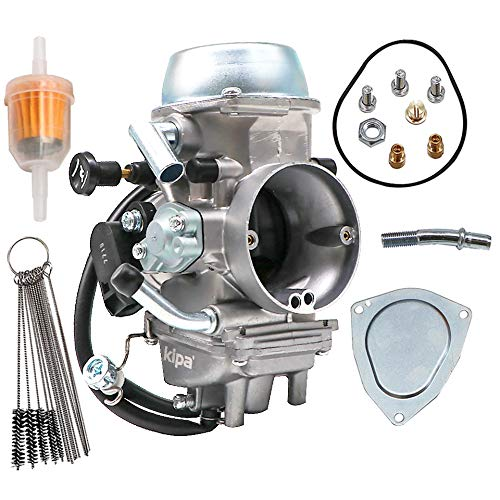KIPA Carburetor For Yamaha YFZ450 YFZ 450 ATV 2012-2013 OE # 1PD-13597-00-00 With Fuel Filter & Carbon Dirt Jet Cleaner Tool Kit