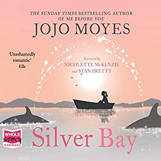 Silver Bay                   By:                                                                                                                                 Jojo Moyes                               Narrated by:                                                                                                                                 Nicolette McKenzie,                                                                                        Stan Pretty                      Length: 13 hrs and 36 mins     79 ratings     Overall 4.5