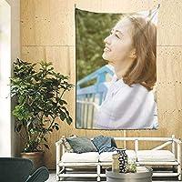 逢沢りな Rina Aizawa タペストリー 壁掛け インテリア ファブリック装飾用品 多機能 寝室 カーテン おしゃれ 個性ギフト 新築祝い (230cm*150cm)