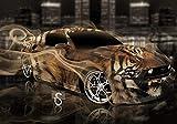 LIWEIXKY Juguete de 1000 Piezas Rompecabezas de Madera Juguetes para nios Juegos para Adultos Rompecabezas Juguetes educativos Regalo Decorativo Tiger Car