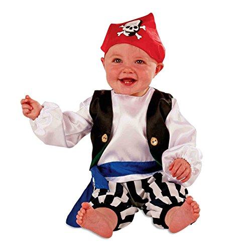 Slimy Toad - Déguisement costume pirate bébé / tout-petit (6 mois, 12 mois, 24 mois)