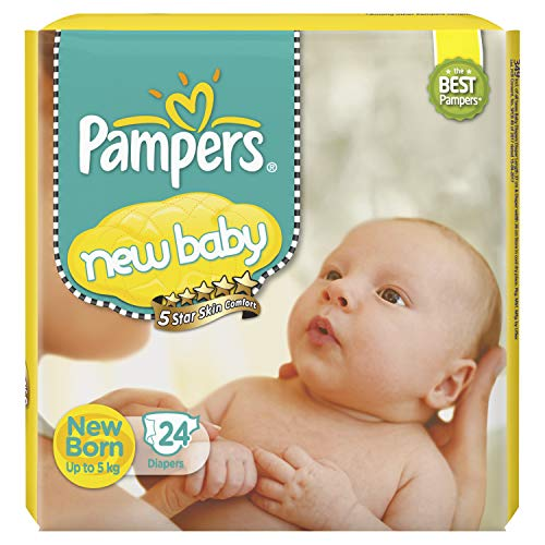 2. Pampers Active Baby New Born Diapers Product Image