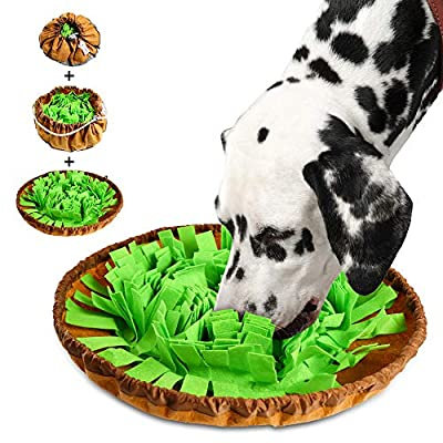 Amazon - 70% Off on Pet Snuffle Bowl Mat – Indoor Outdoor Dog Puzzle Toys for Boredom