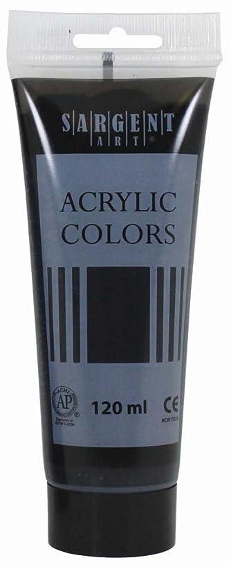 Sargent Art 23-0385 120Ml Tube Acrylic Paint, Mars Black