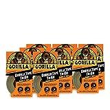 Gorilla Glue 61001 Duct Tape, 30' Length x 1' Width (Case of 8)