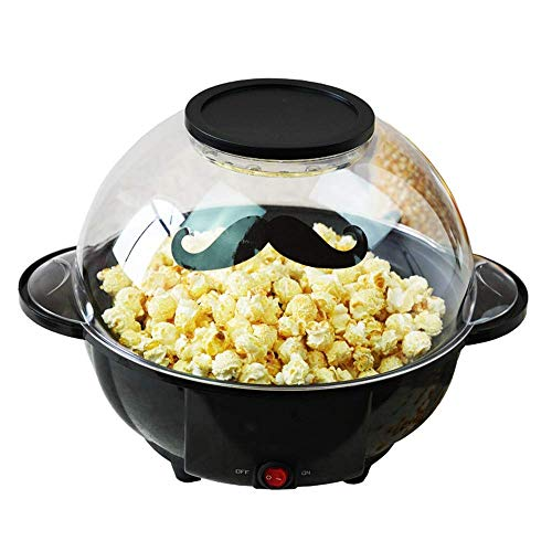 Great Features Of ZXvbyuff Popcorn Maker, 850W Fast Popcorn Machine, Hot Air Popcorn Popper with Wid...