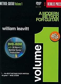 A Modern Method for Guitar - Volume 1: Book/DVD-ROM Pack (Method (Berklee Press))