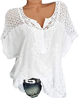 Women's Clothing 2019 Summer New O-neck Sleeveless Long Crochet Lace Chiffion Blouse Plus Size Casual Vintage Black White Lace Top Free Shipping