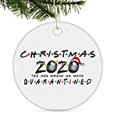 Tmflexe 2021 Christmas Ornaments Decorations Tree Hanging Ornaments Kits Accessories Surviving Souvenir Gift for Home Indoor Outdoor Decor