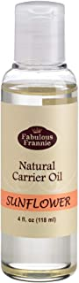Sunflower 4oz Carrier Oil Base Oil for Aromatherapy, Essential Oil or Massage