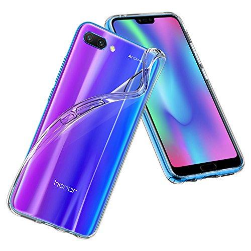 Spigen L27CS24097 Liquid Crystal für Honor 10 Hülle Transparent TPU Silikon Handyhülle Durchsichtige Schutzhülle Flex Case - Crystal Clear