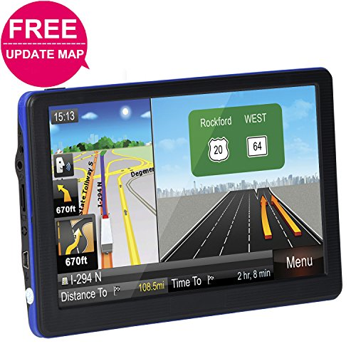 Learn More About Car GPS Navigation System, TSWA Free Lifetime Map Update GPS Navigation for car,SAT...