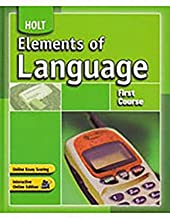 Elements of Language: Language and Sentence Skills Practice Answer Key First Course