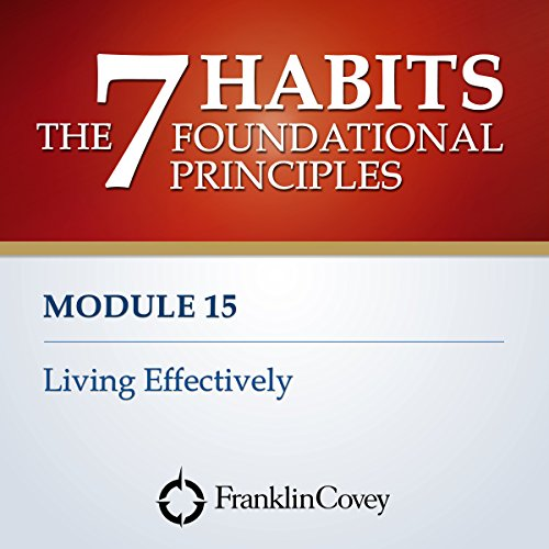 Couverture de Module 15 - Living Effectively