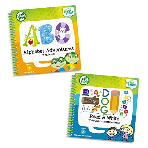 LeapFrog LeapStart 2 Book Combo Pack: Alphabet Adventures and Read & Write