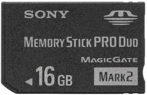 Sony 16GB Memory Stick PRO Duo Card