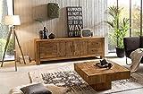 Sit Möbel Banda Lowboard recyceltes Teak L = 210 x B = 50 x H = 70 cm Natur