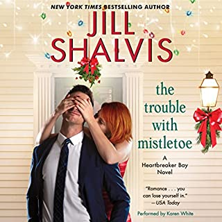 The Trouble with Mistletoe audiobook cover art
