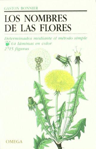 LOS NOMBRES DE LAS FLORES (GUIAS DEL NATURALISTA-PLANTAS CON FLORES)