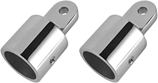 LEANINGTECH Bimini Top Eye End Cap, 2 PCS Fitting Boat Marine Hardware 316 Stainless Steel (1