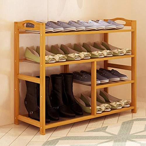 M-YN Zapatero Botas Cubos de Almacenamiento de Zapatos apilables Extensibles for 13-21 Pares de Zapatos Organizador de estantes Que Ahorra Espacio (Size : 4-Tier)