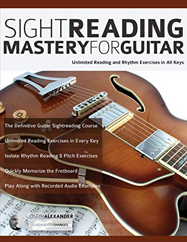 Sight Reading Mastery for Guitar: Unlimited Reading and Rhythm Exercises in All Keys (Sight Reading for Modern Instruments)