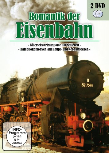 Romantik der Eisenbahn - Dampflokomotiven & Güterschwertransporte [2 DVDs]