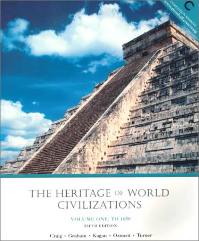 Download The Heritage of World Civilization to 1650 0130124532