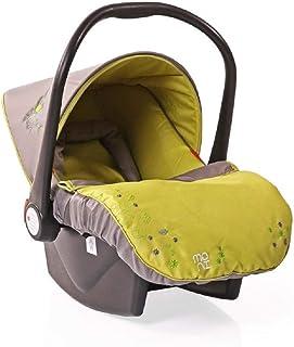 Asiento infantil para bebé Grupo Tala 0+ (0 a 13 kg), cubrepiés, cojín interior, color:verde