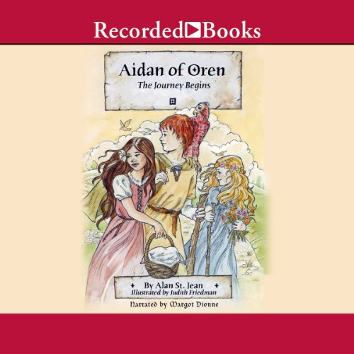 Aidan of Oren audiobook cover art
