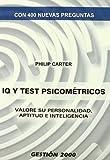 IQ y tests psicométricos: Valore su personalidad, aptitud e inteligencia