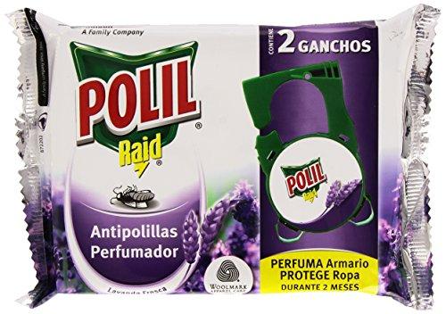 Raid Gel antipolillas aroma a lavanda Maxi Pack,/ /Juego de 6