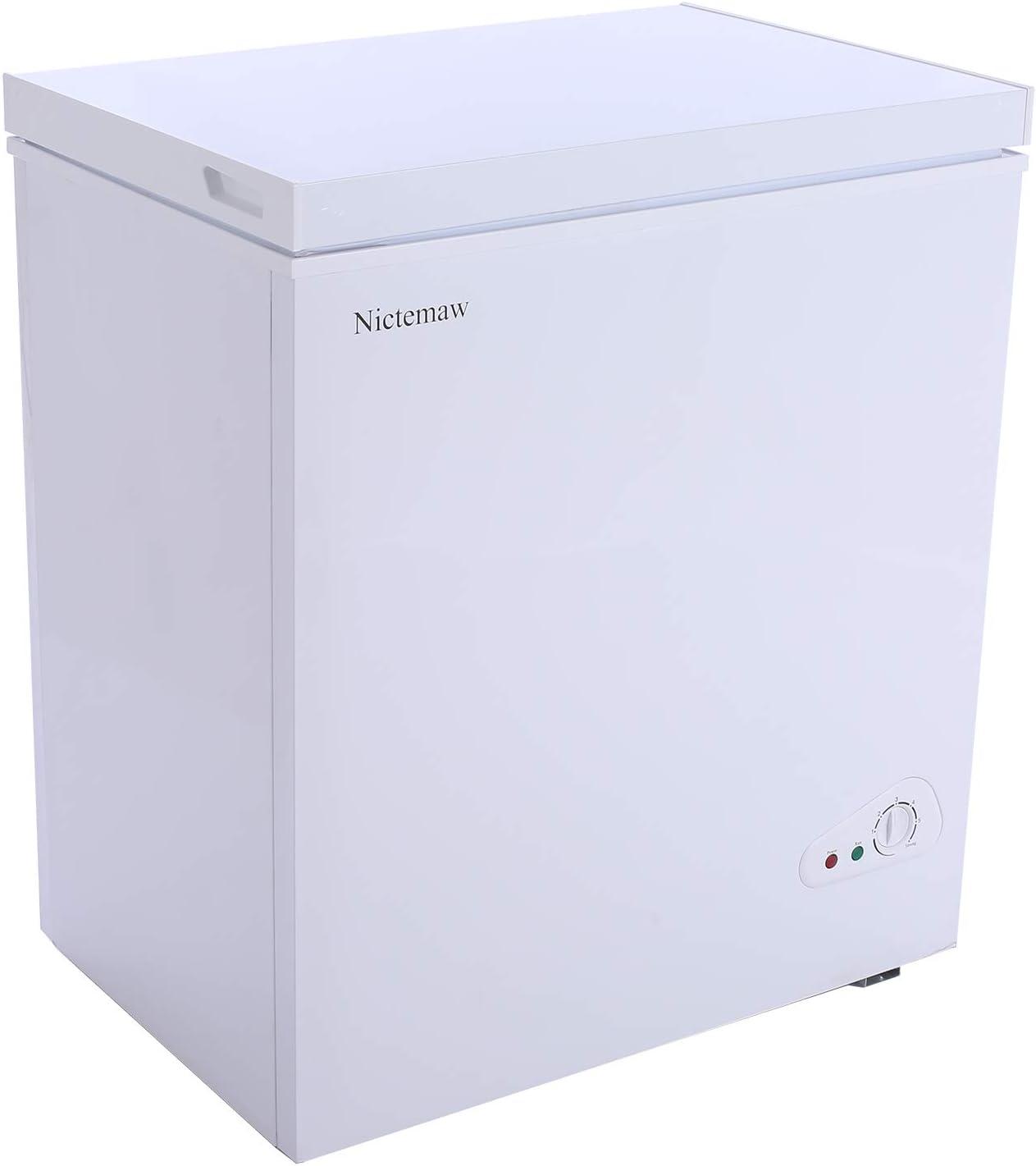 Nictemaw Chest Freezer Luxury goods 5.3 Inexpensive Large Capacity Cu.Ft