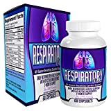 Respiratory-MAX: Respiratory Support Supplement / Lung Health Supplements - 60 Capsules
