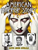 American Horror Story Dots Lines Spirals: american horror story coloring book