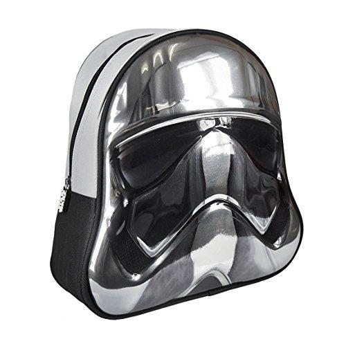 Cerdá 3d Tropper Star Wars Kinder-Rucksack, 31 cm, Grau (gris)