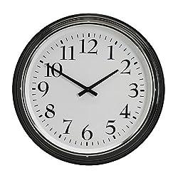 IKEA BRAVUR - Wall clock, black
