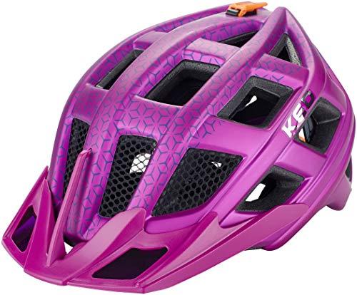 KED Crom - Casco de Bicicleta - Rosa Contorno de la Cabeza...