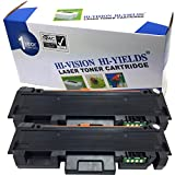 HI-VISION HI-YIELDS Compatible MLT-D118S [1,200 Pages] Stardard Yield Toner Cartridge Replacement for Samsung 118S, Used in Xpress M3065FW M3015DW (Black, 2-Pack)