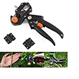 SK ORGANIC Pruning Scissors, Grafting Tool Pruning Shears Garden Fruit Tree Pruning Shears Scissor with 2 Blades