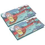 Combinación de notas adhesivas, N Times Pastes útiles escolares, estudiantes de la escuela para niños