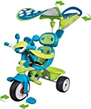 Smoby - Tricycle enfant Baby Driver Confort Sport + Ombrelle Smoby